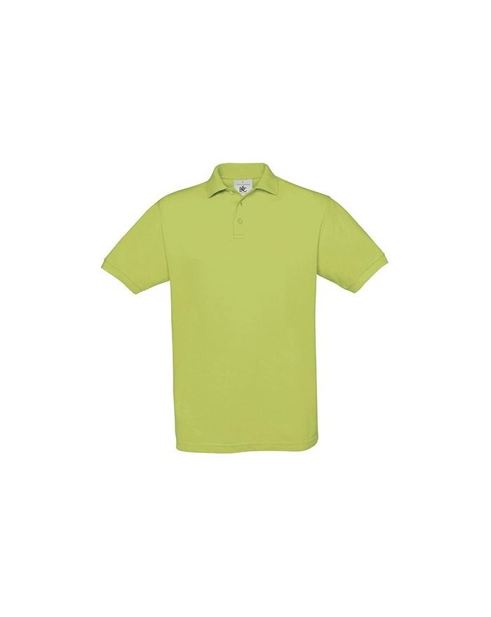 Polo Safran Piqué - Polo Personnalisé avec marquage broderie, flocage ou impression. Grossiste vetements vierge à personnalis...