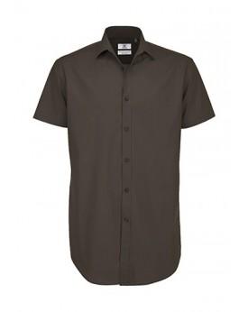 Black Tie SSL/Homme Poplin Chemise Chemises & vêtements d'entreprise