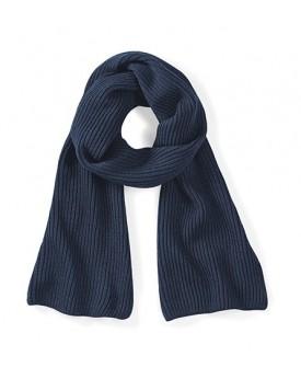 Écharpe tricotée métro - Casquette Personnalisée avec marquage broderie, flocage ou impression. Grossiste vetements vierge à ...