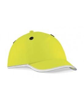 Casquette à coquille en812 à visibilité renforcée - Vêtement de travail Personnalisé avec marquage broderie, flocage ou impre...