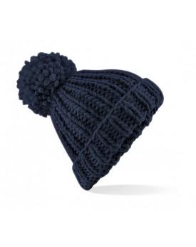 Bonnet Oversize Tricoté à la main - Casquette Personnalisée avec marquage broderie, flocage ou impression. Grossiste vetement...