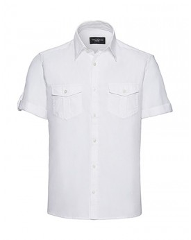 Homme Roll Manche Chemise