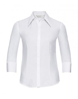Chemise Tencel® Fitted 3/4