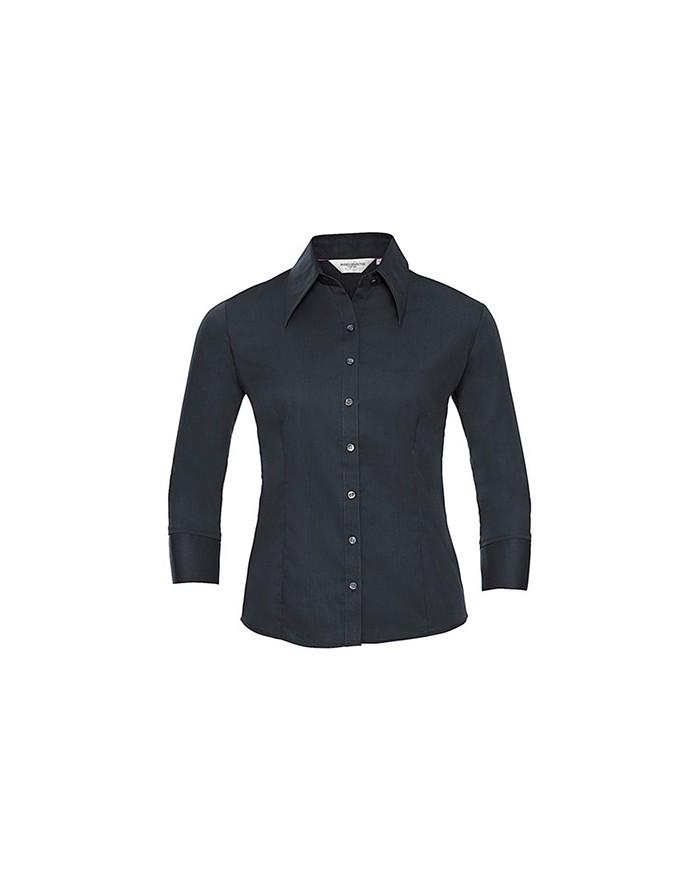 Chemise Tencel Fit 3/4 - Chemise d'entreprise Personnalisée avec marquage broderie, flocage ou impression