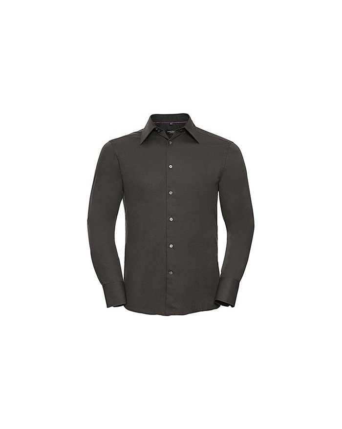 Chemise LS Tencel® Fitted Outlet