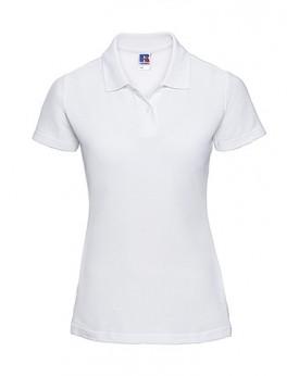 Femme Polo Poly-Coton Blend