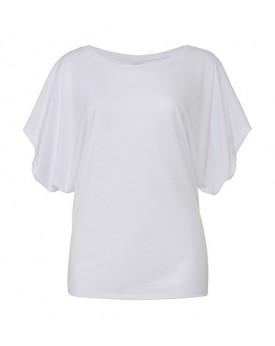 Fluide Manche Drapée  Dolman T-Shirt