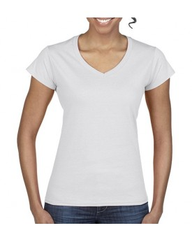 Femme Softstyle® Col-V T-Shirt