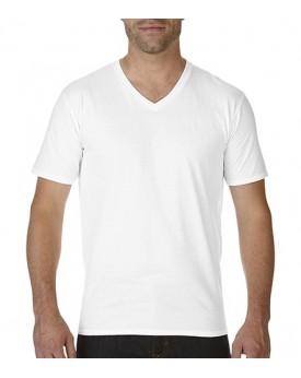 Premium Coton Adulte Col-V T-Shirt