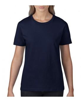 T-Shirt Femme Premium Coton - Tee-shirt Personnalisé avec marquage broderie, flocage ou impression