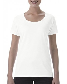 T-Shirt Softstyle® Femme Col Rond Profond