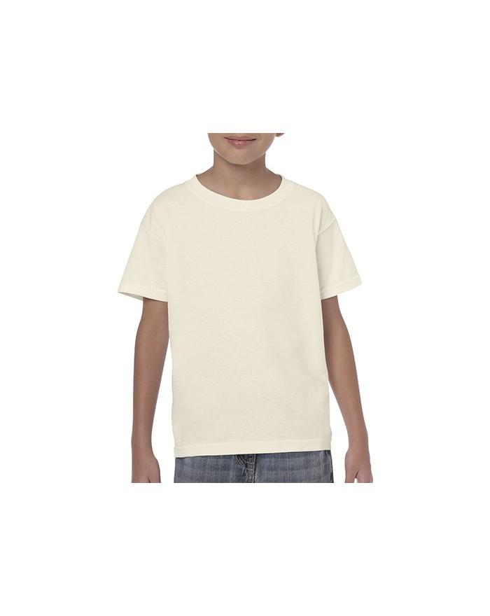 T-Shirt Junior coton lourd - Vêtements Enfant Personnalisés avec marquage broderie, flocage ou impression