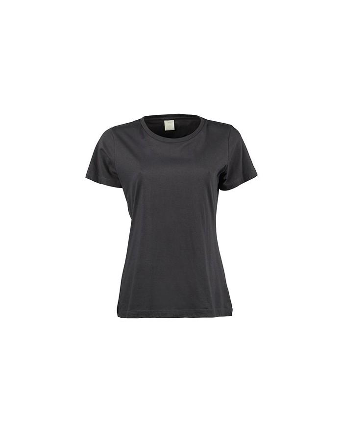 T-Shirt Femme Basic - Tee-shirt Personnalisé avec marquage broderie, flocage ou impression. Grossiste vetements vierge à pers...