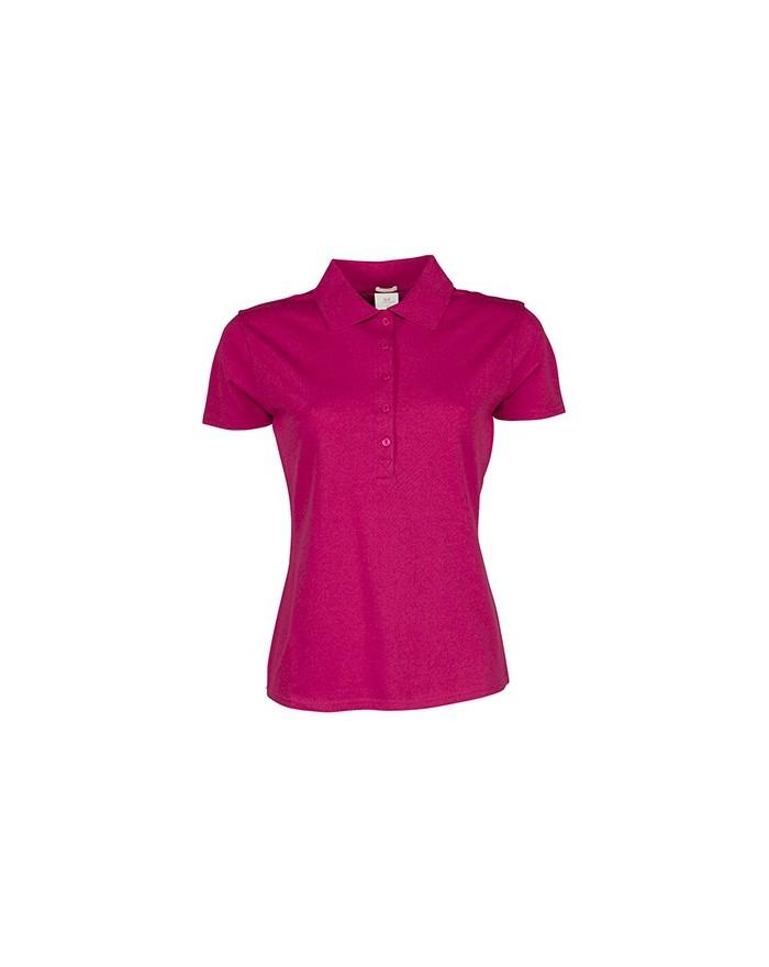 Polo Femme Luxury Stretch - Polo Personnalisé avec marquage broderie, flocage ou impression. Grossiste vetements vierge à per...