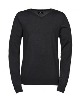 Homme Col-V Sweater