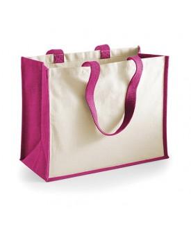 Printers` Jute Classic Sac Shopping - Bagagerie Personnalisée avec marquage broderie, flocage ou impression. Grossiste veteme...
