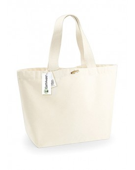 Tote Bag EarthAware Organique Marina Tote XL - Bagagerie Personnalisée avec marquage broderie, flocage ou impression. Grossis...