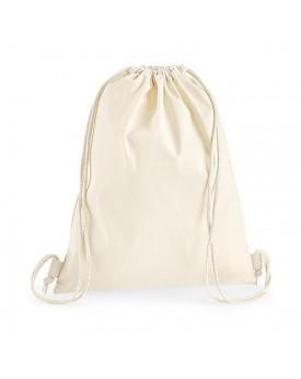Premium Coton Gymsac - Bagagerie Personnalisée avec marquage broderie, flocage ou impression. Grossiste vetements vierge à pe...