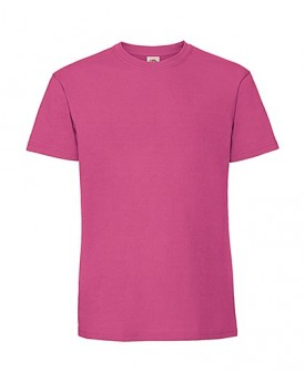 T-Shirt Homme peigné et baguette Premium - Tee-shirt Personnalisé avec marquage broderie, flocage ou impression. Grossiste ve...