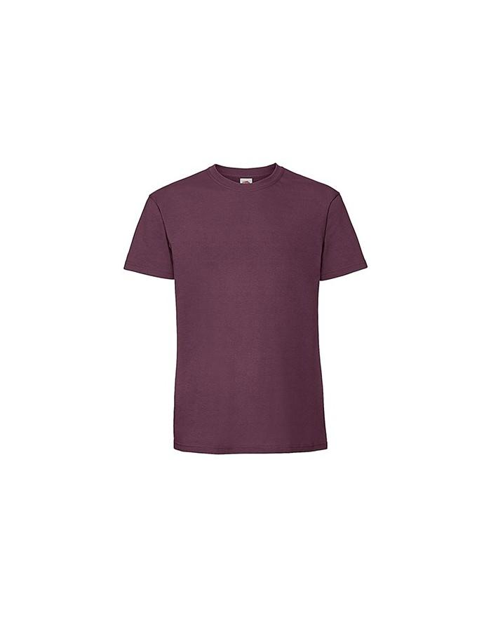 T-Shirt Homme peigné et baguette Premium - Tee-shirt Personnalisé avec marquage broderie, flocage ou impression
