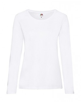 Femme Valueweight Long Manche T