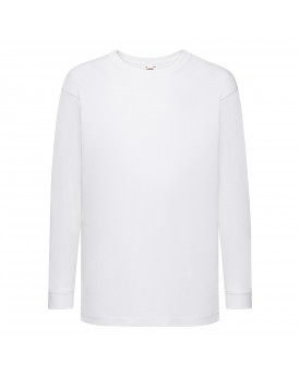 Enfant Valueweight Tee-Shirt Manches Longues