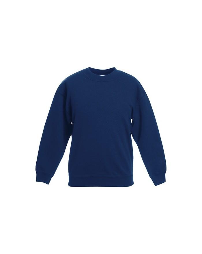 Sweat Enfant Classique Set-In - Vêtements Enfant Personnalisés avec marquage broderie, flocage ou impression. Grossiste vetem...