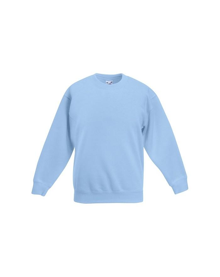 Sweat Enfant Classique Set-In - Vêtements Enfant Personnalisés avec marquage broderie, flocage ou impression