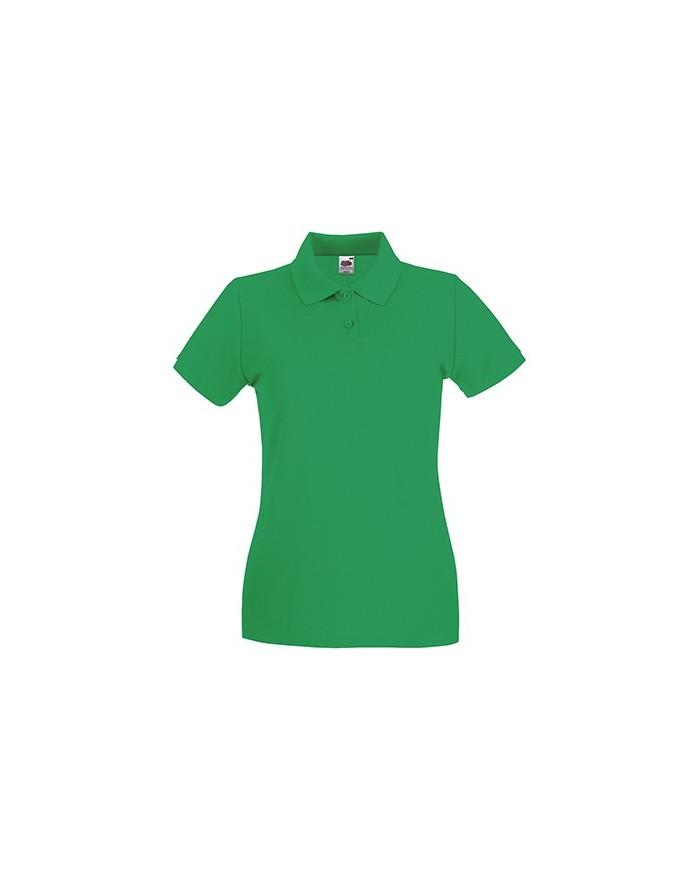 Polo Femme Premium - Polo Personnalisé avec marquage broderie, flocage ou impression. Grossiste vetements vierge à personnali...