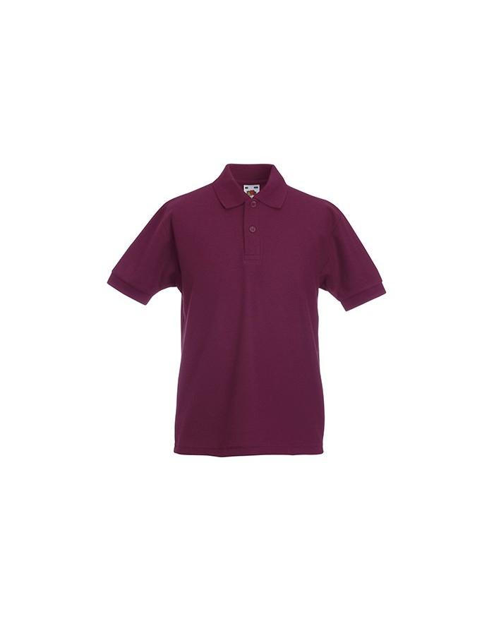 Polo Enfant 65/35 polycoton - Vêtements Enfant Personnalisés avec marquage broderie, flocage ou impression