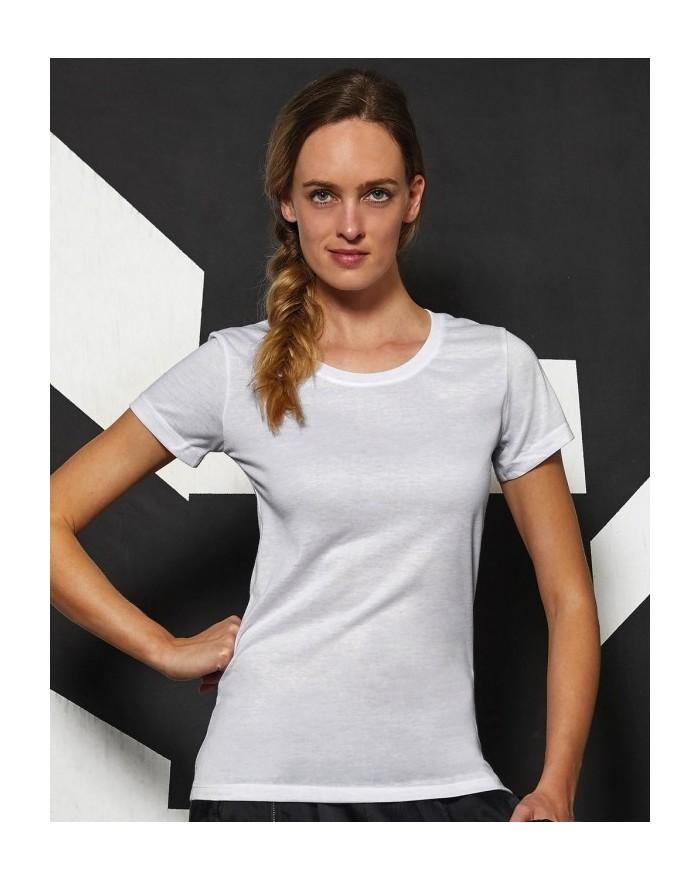T-Shirt Femme pour Sublimation - TW063 - Tee-shirt Personnalisé avec marquage broderie, flocage ou impression. Grossiste vete...