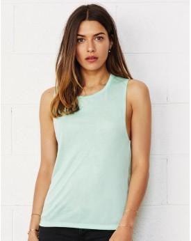 Débardeur Top coton Viscose Col Rond musculation - Tee-shirt Personnalisé avec marquage broderie, flocage ou impression. Gros...