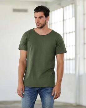 T-Shirt homme Col Brut Jersey - Tee-shirt Personnalisé avec marquage broderie, flocage ou impression. Grossiste vetements vie...
