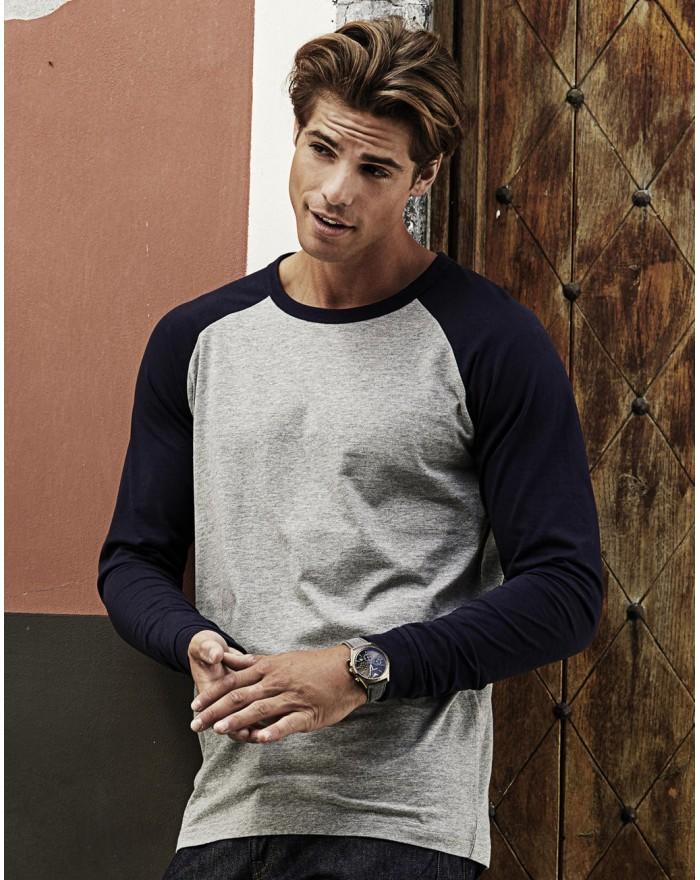 T-Shirt Baseball manches longues - Tee-shirt Personnalisé avec marquage broderie, flocage ou impression. Grossiste vetements ...