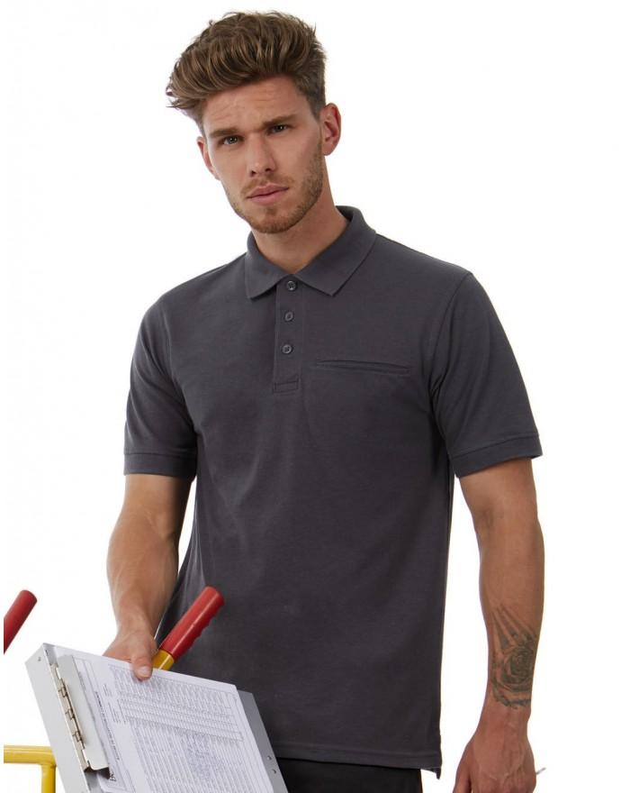 Polo Energy Pro Vêtement de travail Polo avec Poche - Polo Personnalisé avec marquage broderie, flocage ou impression. Grossi...