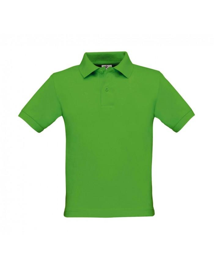 Polo Enfant Safran - Vêtements Enfant Personnalisés avec marquage broderie, flocage ou impression. Grossiste vetements vierge...