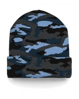 Bonnet à revers camouflage