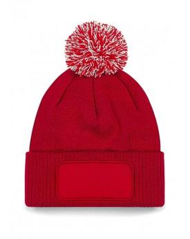 Bonnet à patch Snowstar - Casquette Personnalisée avec marquage broderie, flocage ou impression. Grossiste vetements vierge à...