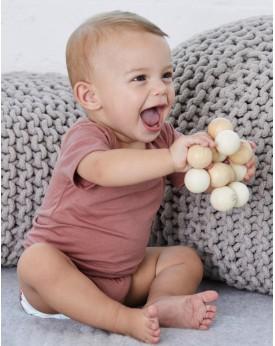 Body Bébé Triblend Onesie Manches Courtes - Vêtements Enfant Personnalisés avec marquage broderie, flocage ou impression. Gro...