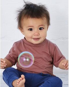 Bébé Triblend Court Manche T-Shirt Enfants
