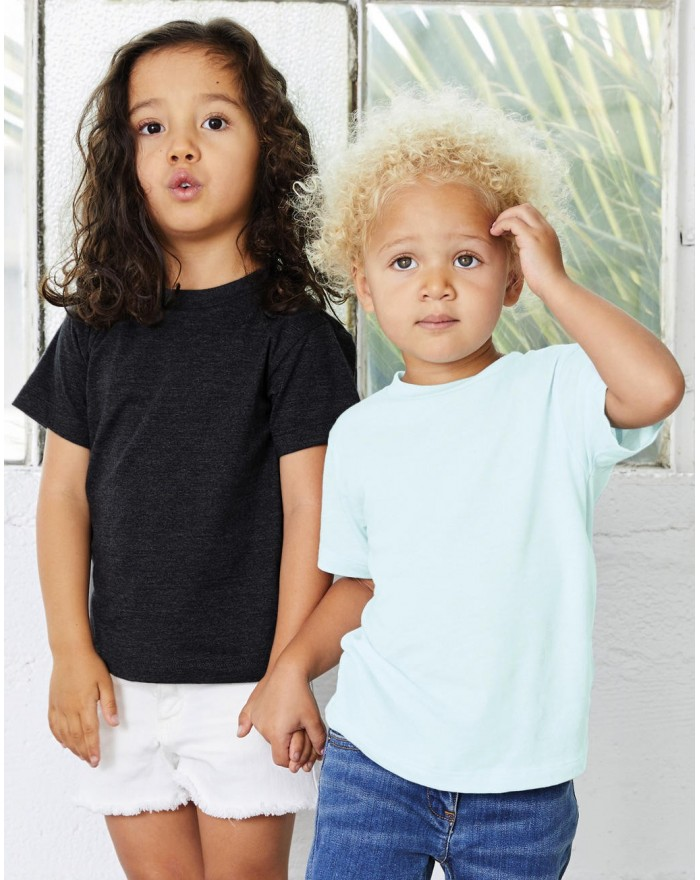 T-Shirt Enfant Triblend Manches Courtes - Vêtements Enfant Personnalisés avec marquage broderie, flocage ou impression. Gross...