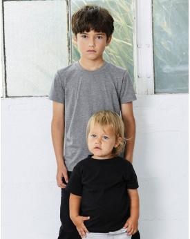 T-shirt Enfant Triblend Jersey manches courtes - Vêtements Enfant Personnalisés avec marquage broderie, flocage ou impression...