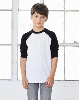 Jeunesse 3/4 Manche Baseball T-Shirt Enfants