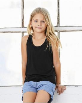 Débardeur Enfant Racerback Viscose - Vêtements Enfant Personnalisés avec marquage broderie, flocage ou impression. Grossiste ...