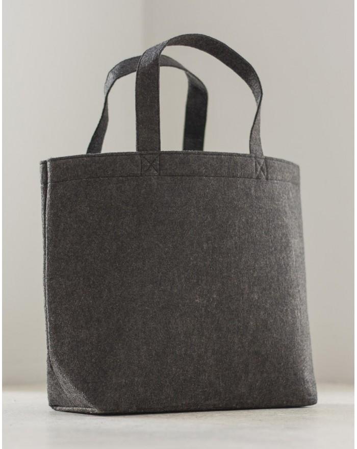 Grand sac shopping en feutre - Bagagerie Personnalisée avec marquage broderie, flocage ou impression. Grossiste vetements vie...