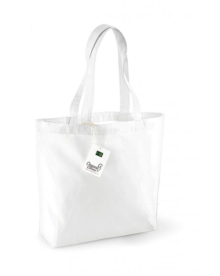 Organic Coton Sac Shopping - Bagagerie Personnalisée avec marquage broderie, flocage ou impression. Grossiste vetements vierg...