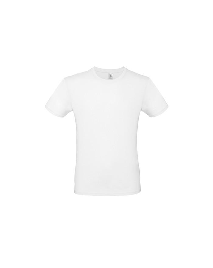 #E150 T-Shirt Homme - Tee shirt Personnalisé avec marquage broderie, flocage ou impression. Grossiste vetements vierge à pers...