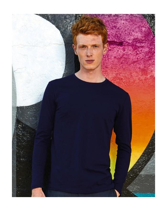 T-Shirt Homme Inspire LSL T - Vêtements & sacs Bio Personnalisés avec marquage broderie, flocage ou impression. Grossiste vet...