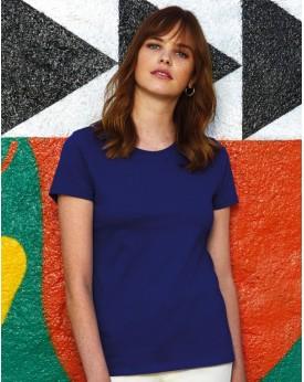#E190 T-Shirt Femme - Tee-shirt Personnalisé avec marquage broderie, flocage ou impression