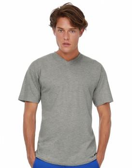 T-Shirt Exact Col V - Tee-shirt Personnalisé avec marquage broderie, flocage ou impression. Grossiste vetements vierge à pers...